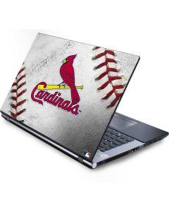 St. Louis Cardinals Game Ball Generic Laptop Skin