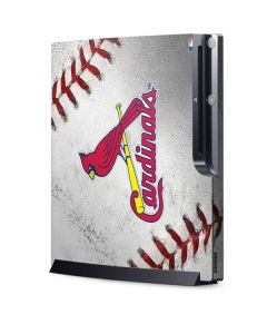 St. Louis Cardinals Game Ball Playstation 3 & PS3 Slim Skin