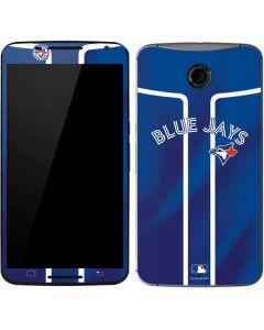 Toronto Blue Jays Alternate Jersey Google Nexus 6 Skin