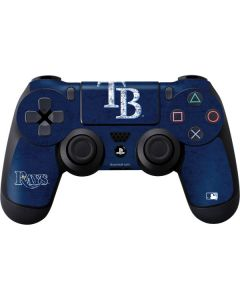 Tampa Bay Rays - Solid Distressed PS4 Controller Skin