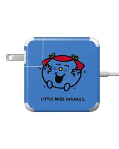 Little Miss Giggles Apple Charger Skin
