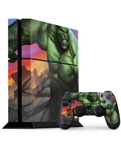 Hulk Flexing PS4 Console and Controller Bundle Skin