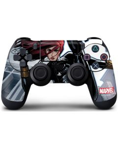 Black Widow High Kick PS4 Controller Skin