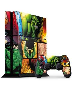 Hulk in Action PS4 Console and Controller Bundle Skin