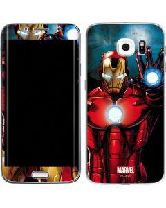 Ironman Galaxy S6 Edge Skin