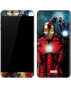 Ironman Galaxy Note5 Skin