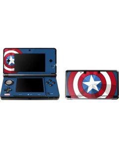 Captain America Emblem 3DS (2011) Skin