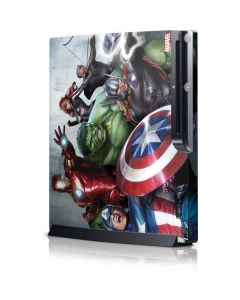 Avengers Assemble Playstation 3 & PS3 Slim Skin
