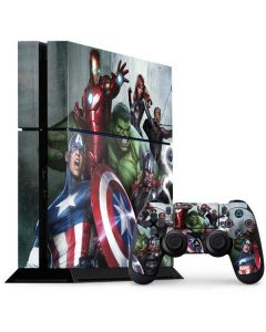 Avengers Assemble PS4 Console and Controller Bundle Skin