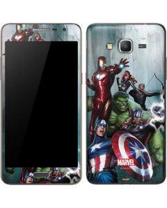 Avengers Assemble Galaxy Grand Prime Skin