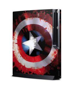 Captain America Shield Playstation 3 & PS3 Slim Skin