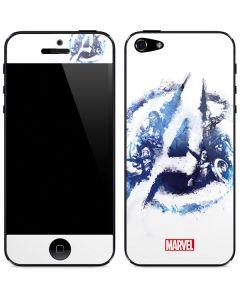 Avengers Blue Logo iPhone 5/5s/SE Skin