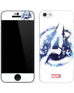 Avengers Blue Logo iPhone 5c Skin
