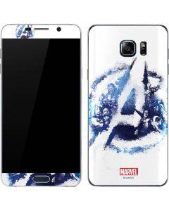 Avengers Blue Logo Galaxy Note5 Skin