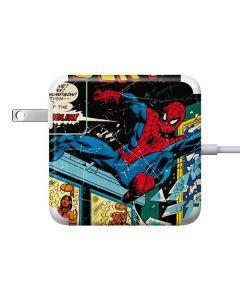 Marvel Comics Spiderman Apple Charger Skin