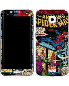 Marvel Comics Spiderman Galaxy S6 Edge Skin