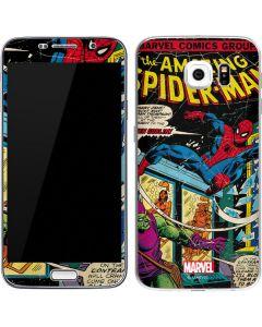 Marvel Comics Spiderman Galaxy S6 Skin