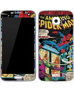 Marvel Comics Spiderman Galaxy S7 Skin