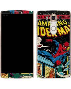 Marvel Comics Spiderman V10 Skin