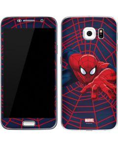 Spider-Man Crawls Galaxy S6 Skin