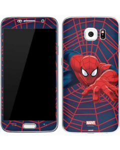 Spider-Man Crawls Galaxy S7 Skin