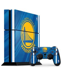 Golden State Warriors Jersey PS4 Console and Controller Bundle Skin