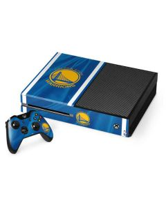 Golden State Warriors Jersey Xbox One Console and Controller Bundle Skin