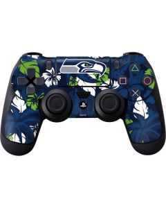 Seattle Seahawks Tropical Print PS4 Controller Skin