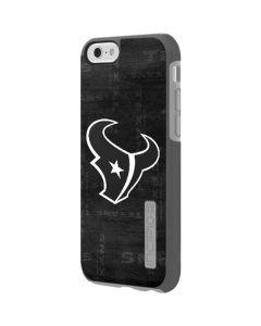 Houston Texans Black & White Incipio DualPro Shine iPhone 6 Skin