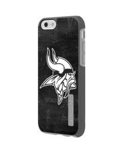 Minnesota Vikings Black & White Incipio DualPro Shine iPhone 6 Skin