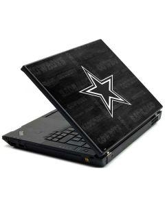 Dallas Cowboys Black & White Lenovo T420 Skin
