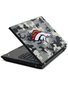 Denver Broncos Camo Lenovo T420 Skin