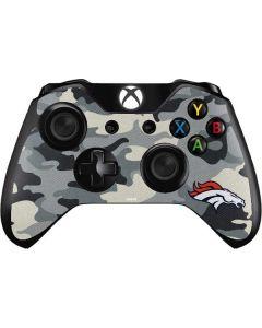 Denver Broncos Camo Xbox One Controller Skin