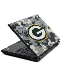 Green Bay Packers Camo Lenovo T420 Skin