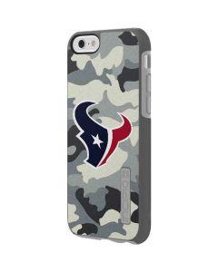 Houston Texans Camo Incipio DualPro Shine iPhone 6 Skin
