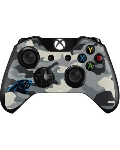 Carolina Panthers Camo Xbox One Controller Skin
