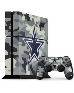 Dallas Cowboys Camo PS4 Console and Controller Bundle Skin