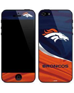 Denver Broncos iPhone 5/5s/SE Skin