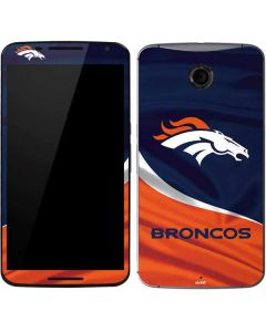 Denver Broncos Google Nexus 6 Skin