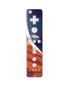 Denver Broncos Wii Remote Controller Skin