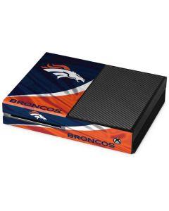 Denver Broncos Xbox One Console Skin