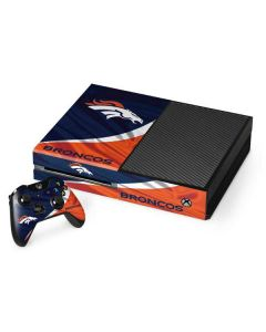 Denver Broncos Xbox One Console and Controller Bundle Skin