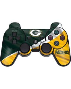 Green Bay Packers PS3 Dual Shock wireless controller Skin