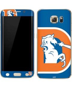 Denver Broncos Retro Logo Galaxy S7 Edge Skin