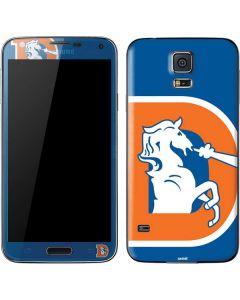 Denver Broncos Retro Logo Galaxy S5 Skin