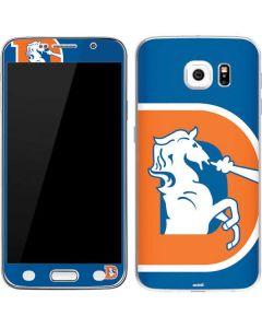 Denver Broncos Retro Logo Galaxy S6 Skin