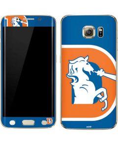 Denver Broncos Retro Logo Galaxy S6 edge+ Skin