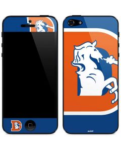 Denver Broncos Retro Logo iPhone 5/5s/SE Skin