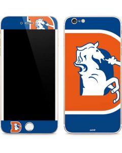 Denver Broncos Retro Logo iPhone 6/6s Plus Skin