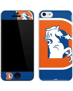 Denver Broncos Retro Logo iPhone 5c Skin